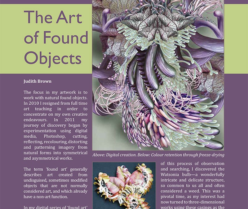 The Art of Found Objects – Embellish Magazine No 18