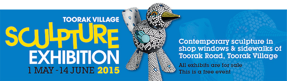 The Toorak Village Sculpture Exhibition
